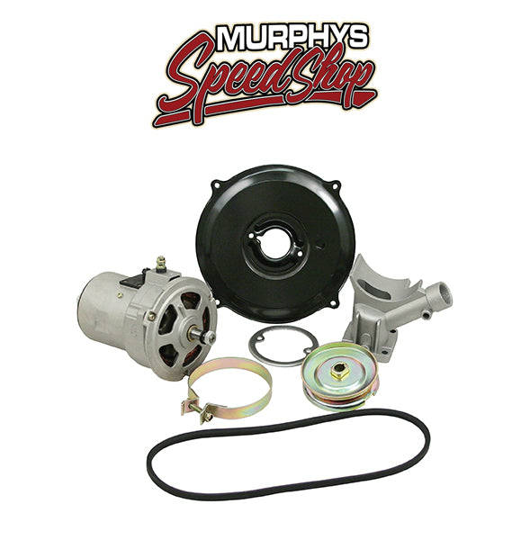 EMPI 9446 Alternator Kit With Pulley & Belt 12 Volt 55 Amp For Air-Cooled Volkswagen