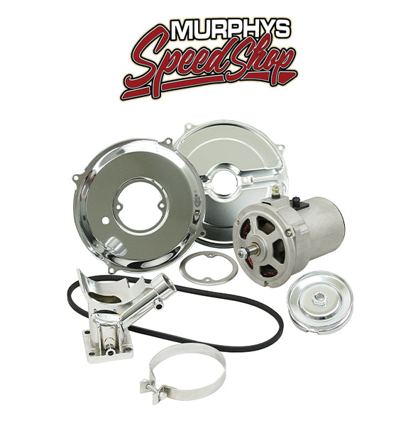 EMPI 9450 Alternator Kit w/Chrome Components