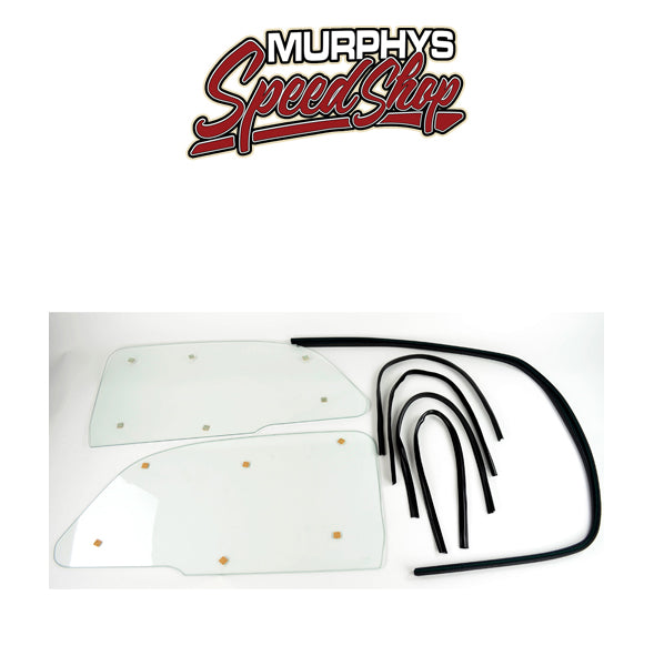 EMPI 9783 1 PIECE WINDOW KIT, Snap In Style, For Beetle 65-76