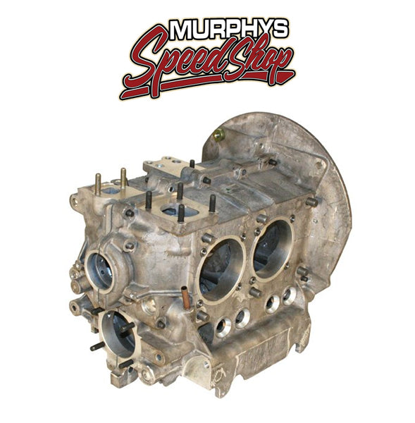 EMPI 98-0438-B ENGINE CASE, Magnesium, 90.5/ 92mm Bore, For 8mm Studs