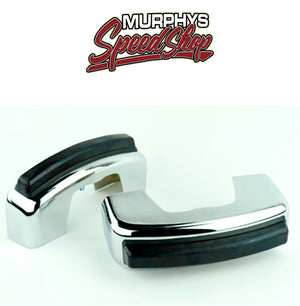 EMPI 98-0751 BUMPER GUARDS, Chrome, For Beetle All Years & Super 68-73