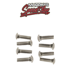 EMPI 98-1013-B CHROME BUMPER BOLTS, Beetle 55-67, Sold as set of 12