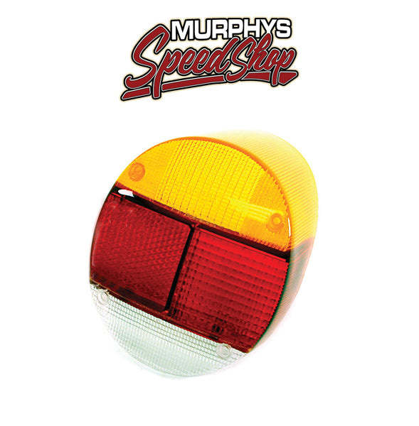 Empi 98-1065 Left Tail Light Lens 1973-79 Vw Bug/Super Beetle, Euro Lens, Each