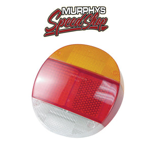 Empi 98-1066 Right Tail Light Lens 1973-79 Vw Bug/Super Beetle, Euro Lens, Each