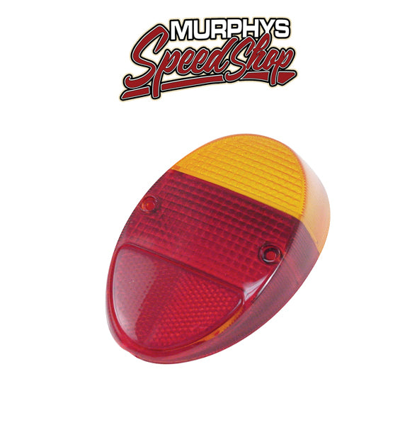 Empi 98-1074 Left Or Right Tail Light Lens 1962-67 Vw Bug, Euro Lens, Each
