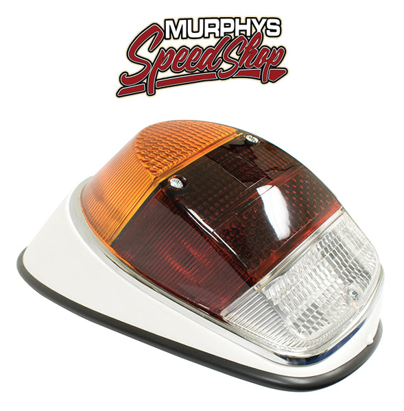 EMPI 98-1092 Right Tail Light Assembly 1968-70 Vw Bug, Euro Lens, Each