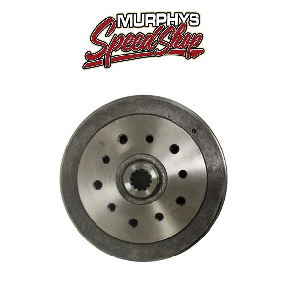 EMPI 98-5002-7 Vw Bug Rear Brake Drum 1949-1979, 5 Lug Porsche/Chevy Pattern