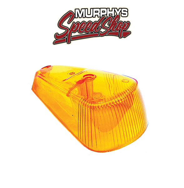 EMPI 98-9519 Vw Bug / Beetle Right Amber Front Turn Signal Lens 1970-1979