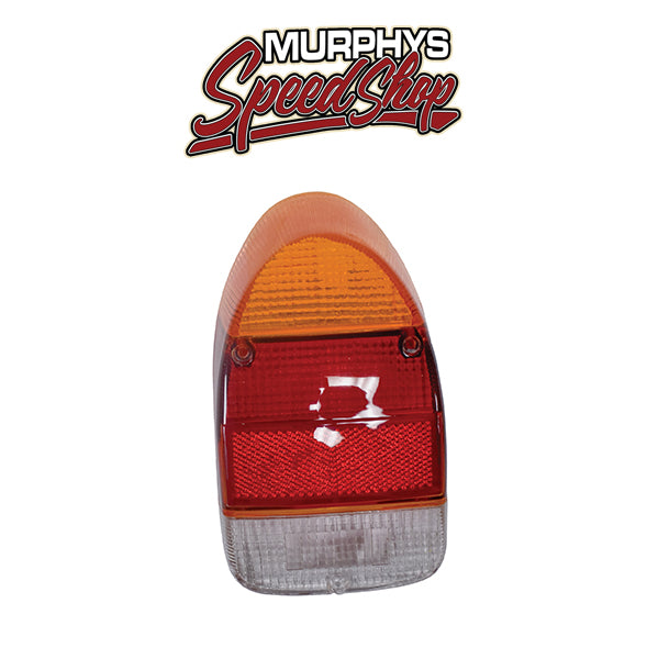 EMPI 98-9629 Left Tail Light Lens 1971-72 Vw Bug/Super Beetle, Euro Lens, Each