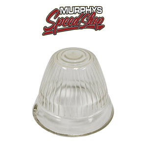 EMPI 98-9638 Vw Bus Left Or Right Clear Front Bullet Turn Signal Lens 1956-1962