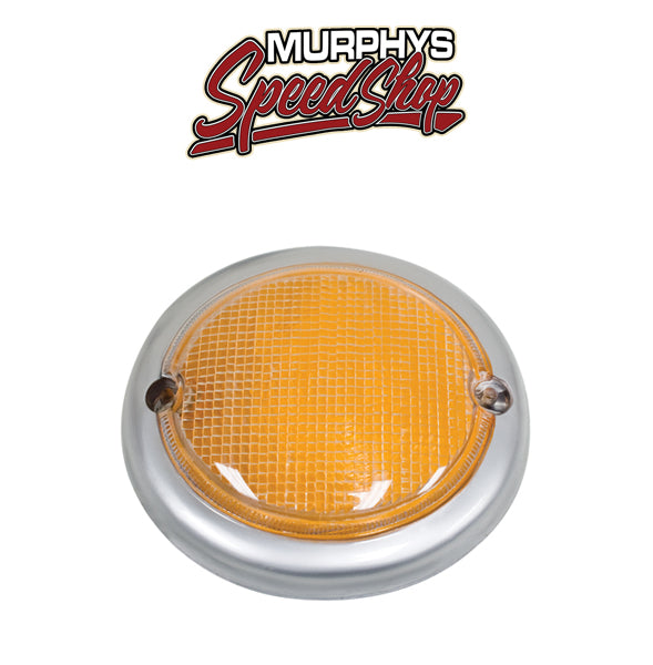EMPI 98-9640 Turn Signal Lens - Amber, Type 2 63-67, Left, Each