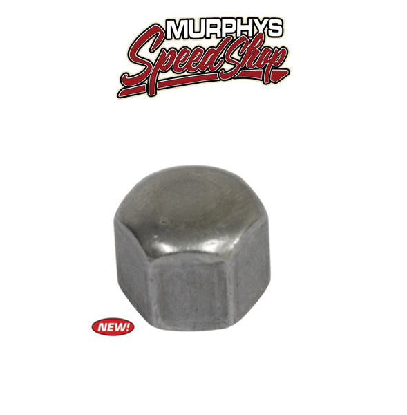 EMPI 99-2404 Acorn Cap Nut, Zinc Plated, 6mm x 1.0, Each