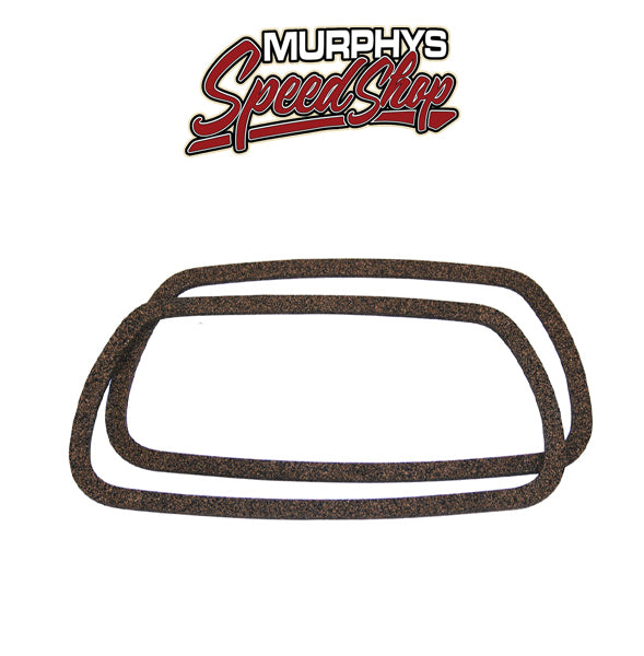 9907 Stock Style Cork/Rubber Valve Cover Gaskets, Pair