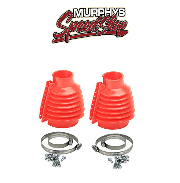 EMPI 9971 SWING AXLE BOOT, Red, For Beetle & Ghia 48-68, Pair