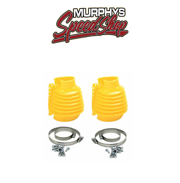 EMPI 9973 Swing Axle Boot - Yellow, Pair