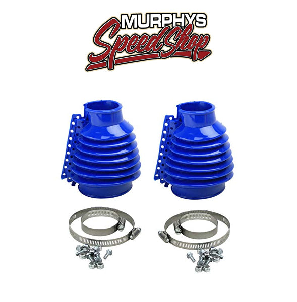 EMPI 9980 Deluxe Swing Axle Boot, Blue, Pair