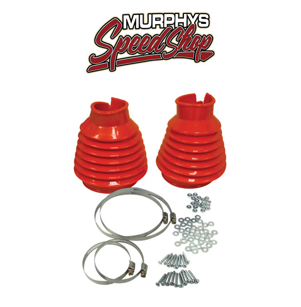 EMPI 9981 SWING AXLE BOOT, Red, For Beetle & Ghia 48-68, Pair PREMIUM