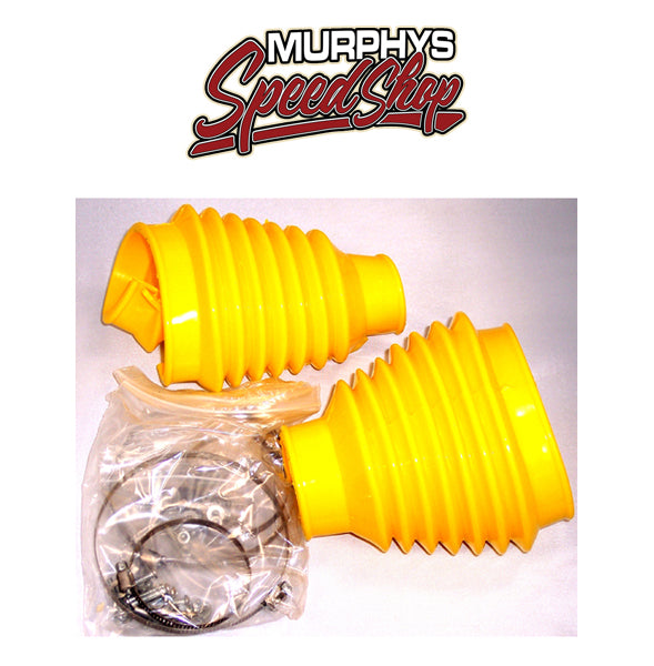 EMPI 9983 SWING AXLE BOOT KIT, Yellow, For Beetle 48-68, Pair PREMIUM