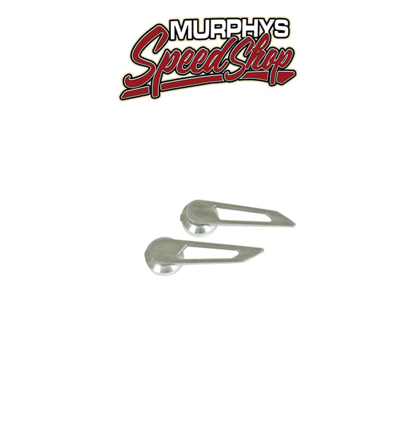 EMPI 8508 Billet Style Door Handles, Type 1 & 3, thru 66, Pair