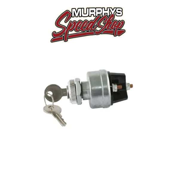 EMPI 9306 Universal Ignition Switch w/Keys for 6 or 12-Volt Systems