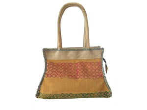 Flower Pattern Hand Bag