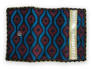 Tribal Pattern Clutch bag