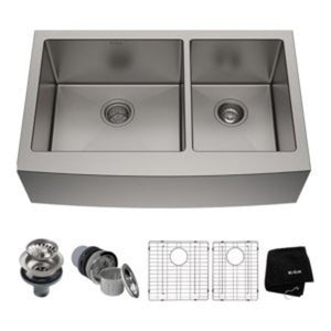 32in. Undermount Stainless Steel Kitchen Sink