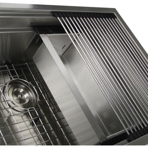 Pro Series Large Prep Station Kitchen Sink