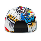 Casquette Flat Back OF