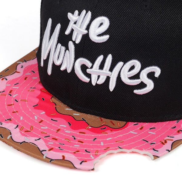 Casquette Flat The Munchies