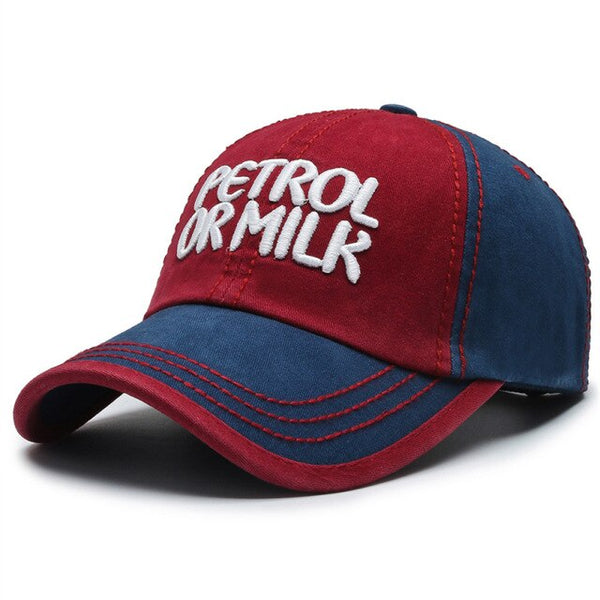 Casquette Baseball Petrol or Milk