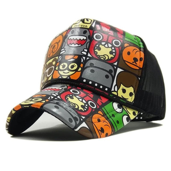 Casquette Trucker Cartoon Spring