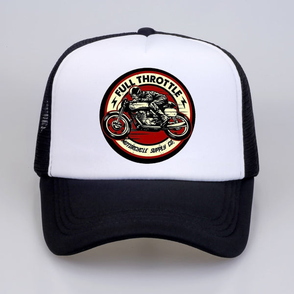 Casquette Trucker Full Throttle Cafe Racer