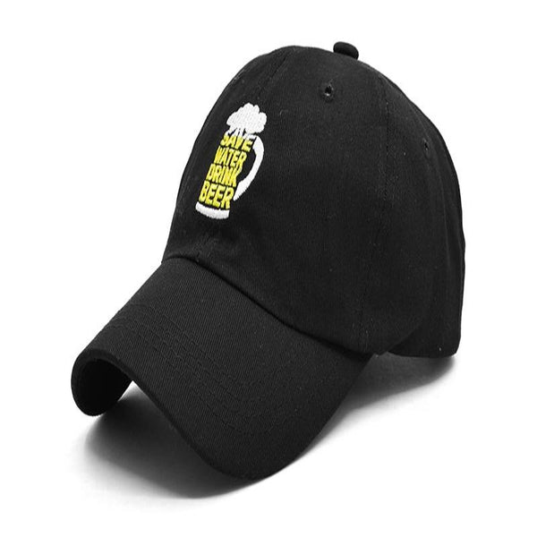Casquette Baseball Save Water Drink Beer