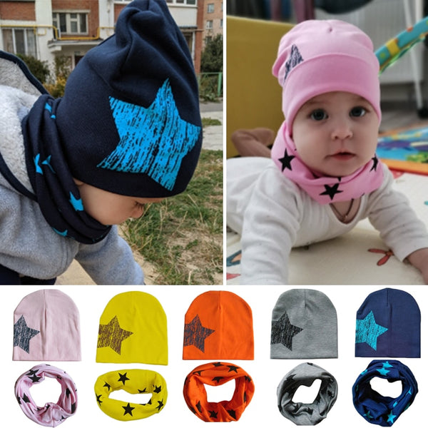 Bonnet + Tour de Cou Winter Baby