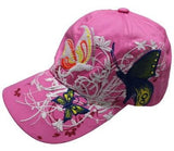 Casquette Baseball Rose & Buttefly