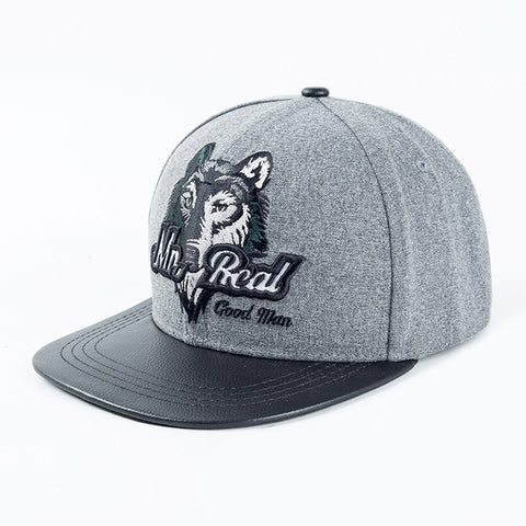 Casquette Flat Mister Real Wolf