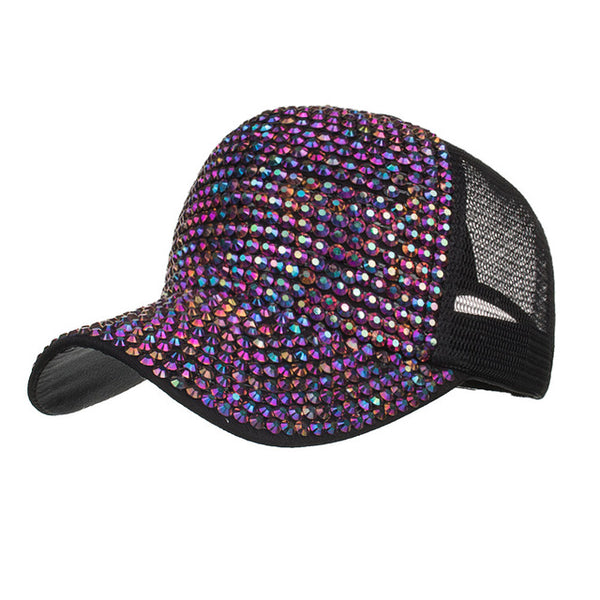 Casquette Strass Fashion