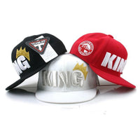 Casquette Flat The King Enfant
