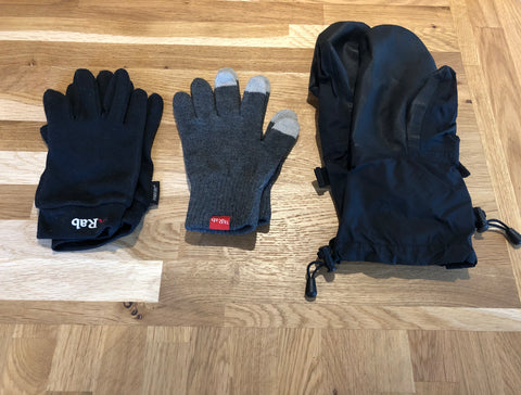 3 Glove Layering System