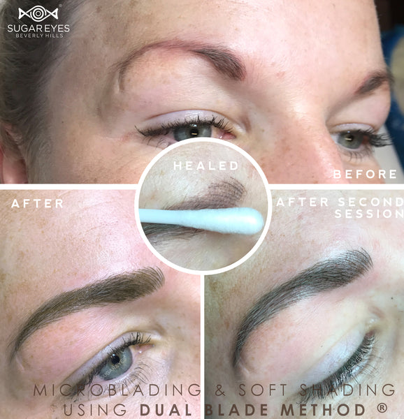 Ombré Eyebrows Training ( (Starter Kit + Certification Included)