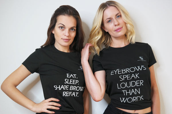 Eat. Sleep. Shape Brows. Repeat. T-Shirt
