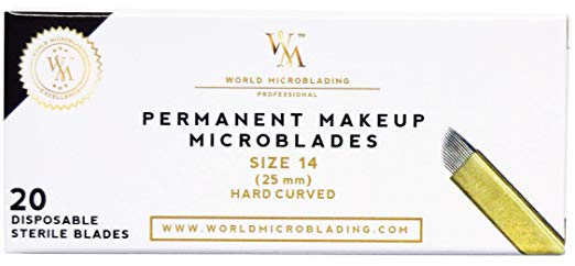 Hard Curved Blade Size 14 – 0,25 mm Pack of 10
