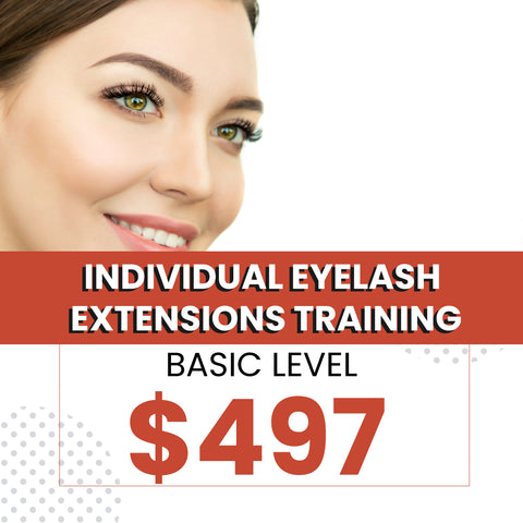 Individual Eyelash Extensions Training (Starter Kit + Certification Included)