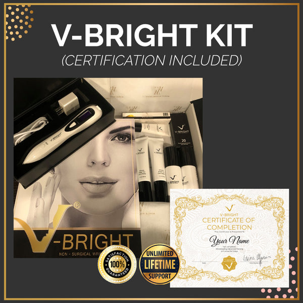 Online V-Bright Pro® Training (Starter Kit + Certification Included)