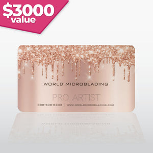 World Microblading Pro Artist - $3000 VALUE