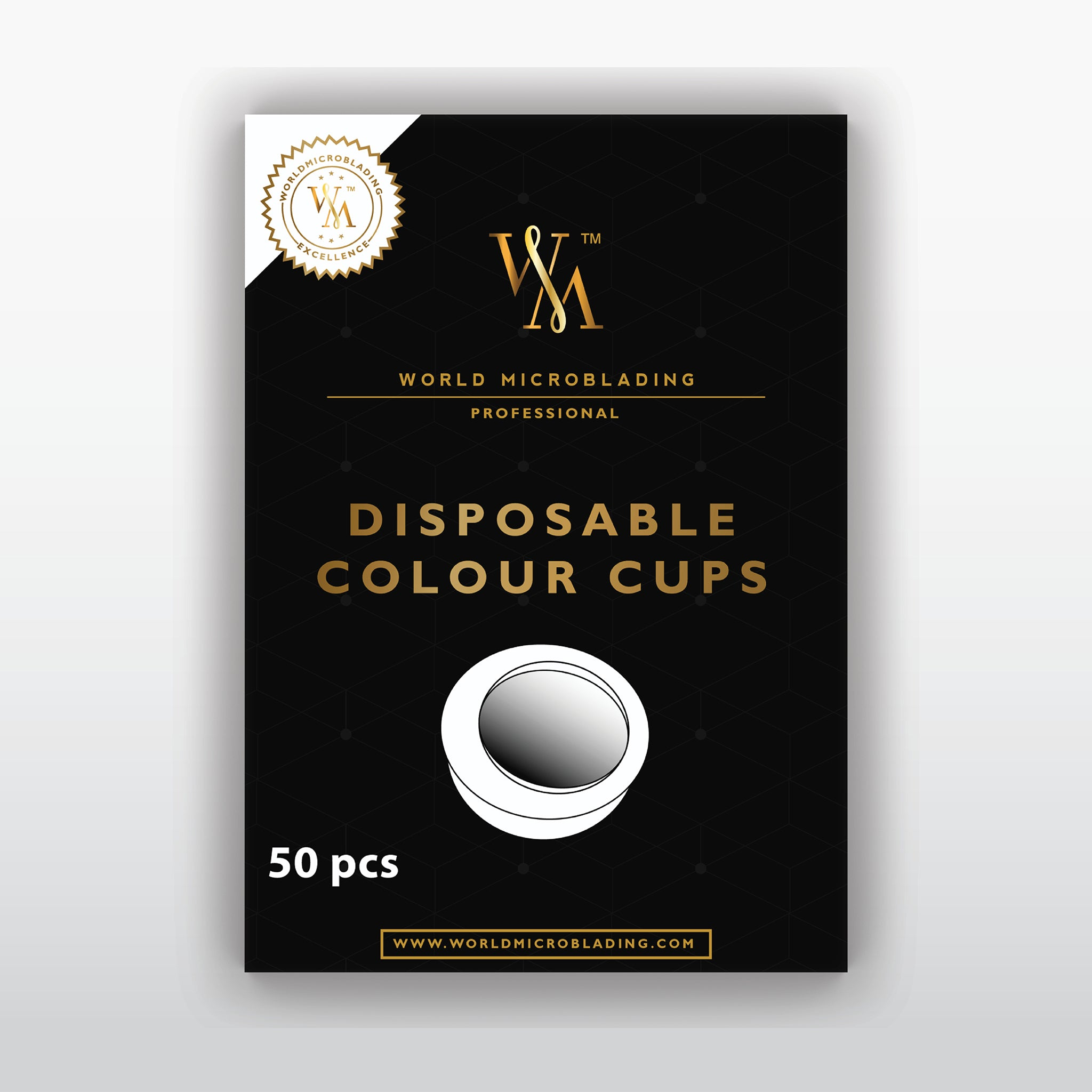 Sterile Disposable Color Cup Pack of 50