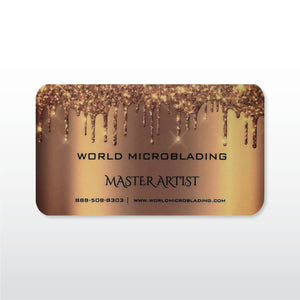 World Microblading Master Artist - $5000 VALUE