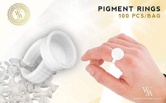 Pigment Rings Pack of 100