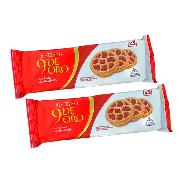 9 de Oro Mini Frola (Pack de 2)